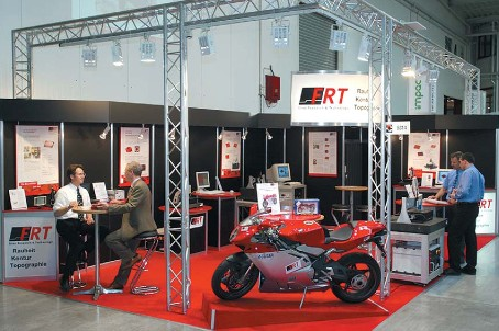 FRT booth in an exhibition