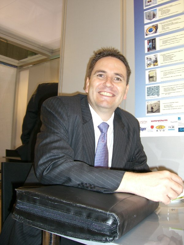 Mr. Sean Green; Sales manager Asia Pacific of FRT Shanghai Co., Ltd.